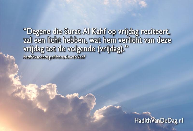 Islam Kaarten Hadith Van De Dag